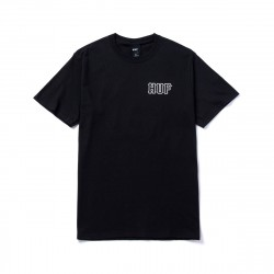 HUF Barb Wire Classic H Tee Black