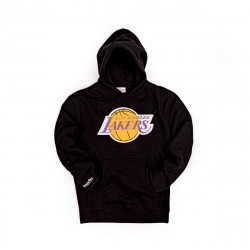 Mitchell & Ness NBA Chenille Logo Hoodie Los Angeles Lakers Black