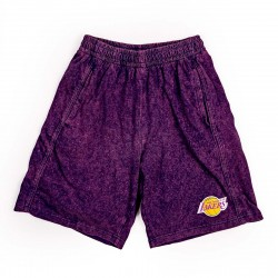Mitchell & Ness NBA Quintessential Acid Wash Shorts Los Angeles Lakers