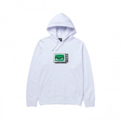 Emergency System Pullover Hoodie White